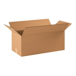 "Office Depot® Brand Corrugated Boxes 22"" x 10"" x 9"", Kraft, Bundle of 20"