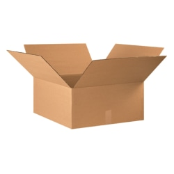 """Office Depot® Brand Corrugated Boxes 22"""" x 20"""" x 10"""", Bundle of 15"""