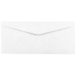 "JAM Paper® Tyvek #10 Business Envelopes, 4 1/8"" x 9 1/2"", White, Pack Of 25"