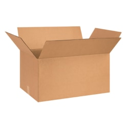 "Office Depot® Brand Corrugated Boxes 24"" x 15"" x 12"", Bundle of 20"