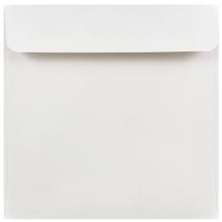 """JAM Paper® Square Invitation Envelopes, 6"""" x 6"""", White, Pack Of 25"""
