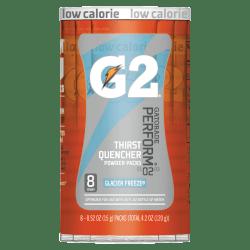 Gatorade Powder Drink Mix, Glacier Freeze, 0.52 Oz, Tube Of 8