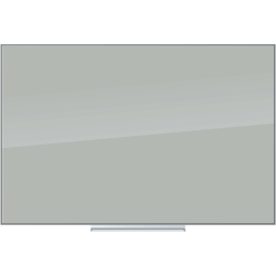 "U Brands Floating Unframed Dry-Erase Board, 24"" x 36"", Gray"