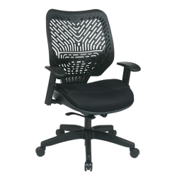 Office Star™ REVV Series SpaceFlex® High-Back Chair, Raven