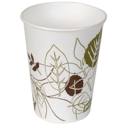 Dixie® Paper Cold Cups, 9 Oz, Pathways, Sleeve Of 100 Cups