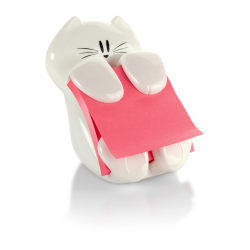 "Post-it® Notes CAT-330 Pop-Up Note Dispenser, 3"" x 3"", White"