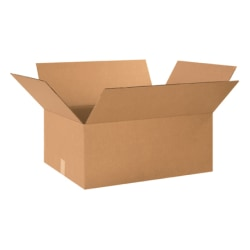 "Office Depot® Brand Corrugated Boxes 26"" x 18"" x 10"", Bundle of 15"