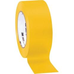 "3M™ 3903 Tartan™ Duct Tape, 3"" Core, 2"" x 50 Yd., Yellow, Case Of 3"