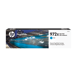 HP 972X High-Yield Cyan Ink Cartridge (L0R98AN)