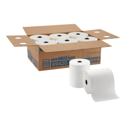 enMotion® by GP PRO 1-Ply Paper Towels, Pack Of 6 Rolls