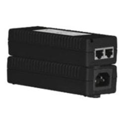 AMX PS-POE-AF-TC PoE Injector for Modero X Series - 110 V AC, 220 V AC Input - 48 V DC, 375 mA Output - 1 10/100/1000Base-T Input Port(s) - 1 10/100/1000Base-T Output Port(s) - 15.40 W - Matte Black