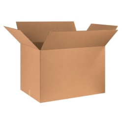 "Office Depot® Brand Corrugated Boxes 36"" x 24"" x 24"", Kraft, Bundle of 5"