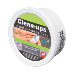 Lee Clean-Ups® Hand Cleaning Pads, Pack Of 60