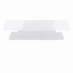 Smead® Erasable Hanging Folder Tabs, 1/3 Cut, White, Pack Of 25