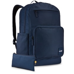 "Case Logic® Query Backpack With 15.6"" Laptop Pocket, Dress Blue"