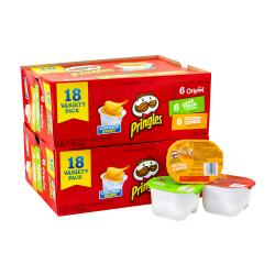 Pringles Variety Pack, Box Of 36