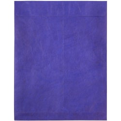 "JAM Paper® Tyvek® Open-End Catalog Envelopes, 10"" x 13"", Blue, Pack Of 25"
