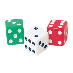 Learning Resources® Dot Dice, Pack Of 36