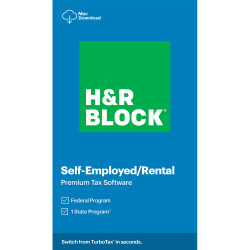 H&R Block 2020, Premium, For Mac, Download (Mac)