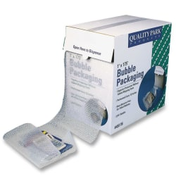 """Quality Park Bubble Packaging - 12"""" Width x 175 ft Length - Perforated - Clear"""