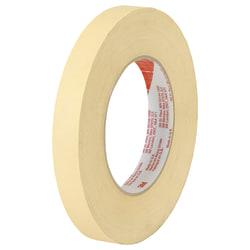 """Scotch® High-Temperature Masking Tape, 3"""" Core, 3/4"""" x 60 Yd., Tan, Case Of 12"""