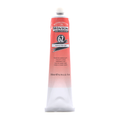 Winsor & Newton Winton Oil Colors, 200 mL, Cadmium Red Light, 62