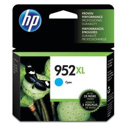 HP 952XL High Yield Cyan Ink Cartridge (L0S61AN#140)