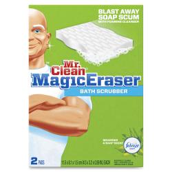 Mr. Clean® Magic Eraser Bath Scrubber, Pack Of 2