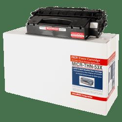 MicroMICR THN-53X (HP Q7553X) High-Yield Black MICR Toner Cartridge