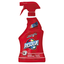 Resolve® Triple Oxi Advanced Carpet Cleaner, 22 Oz Bottle