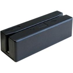 Unitech MS246 Magnetic Stripe Reader - Triple Track - 50 in/s - USB - Black
