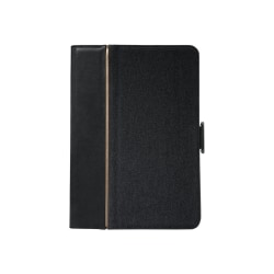 """Targus Versavu THZ636US Carrying Case (Folio) for 9.7"""" iPad Pro - Black - Water Resistant, Drop Resistant - Faux Leather, Fabric"""