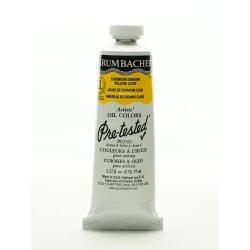 Grumbacher P033 Pre-Tested Artists' Oil Colors, 1.25 Oz, Cadmium Barium Yellow Light