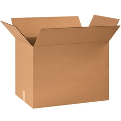"Office Depot® Brand Corrugated Boxes, 16""H x 12""W x 24""D, 15% Recycled, Kraft, Bundle Of 25"