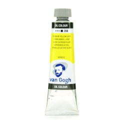 Van Gogh Oil Colors, 1.35 oz, Cadmium Yellow Light, Pack Of 2