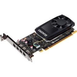 PNY Quadro P1000 Graphic Card - 4 GB GDDR5 - Low-profile - 128 bit Bus Width