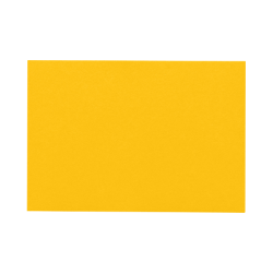 """LUX Flat Cards, A6, 4 5/8"""" x 6 1/4"""", Sunflower Yellow, Pack Of 500"""