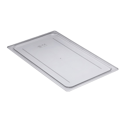 Cambro Full Size Camwear Flat Food Pan Cover, Clear