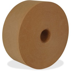 """ipg Medium Duty Water-activated Tape - 125 yd Length x 2.83"""" Width - 8 / Carton - Natural"""