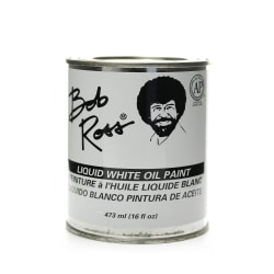 Bob Ross Base Coat, 16 Oz, Liquid White