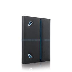 Solo® Tech Booklet Case For Apple® iPad® 2/3/4, Vinyl, Black/Blue
