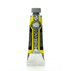 Rembrandt Artist's Oil Colors, 40 mL, Permanent Lemon Yellow, 254