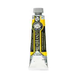 Rembrandt Artist's Oil Colors, 40 mL, Cadmium Yellow Medium, 271