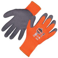 Ergodyne ProFlex 7401 Lightweight Winter Work Gloves, Large, Orange