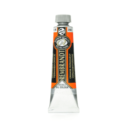 Rembrandt Artist's Oil Colors, 40 mL, Permanent Orange, 266