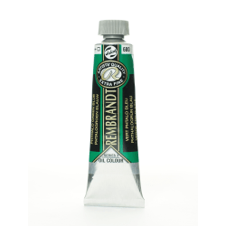 Rembrandt Artist's Oil Colors, 40 mL, Phthalo Green Blue, 680