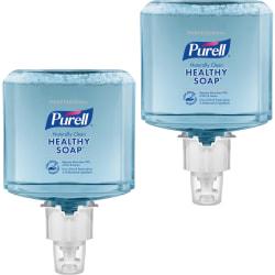 PURELL® ES6 Professional Foam Soap, Naturally Clean Scent, 40.6 Oz, Box Of 2