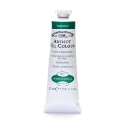 Winsor & Newton Artists' Oil Colors, 37 mL, Viridian, 692