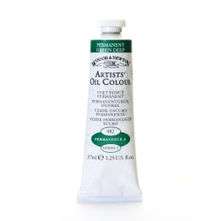 Winsor & Newton Artists' Oil Colors, 37 mL, Permanent Green Deep, 482