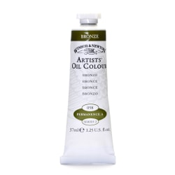 Winsor & Newton Artists' Oil Colors, 37 mL, Bronze, 58